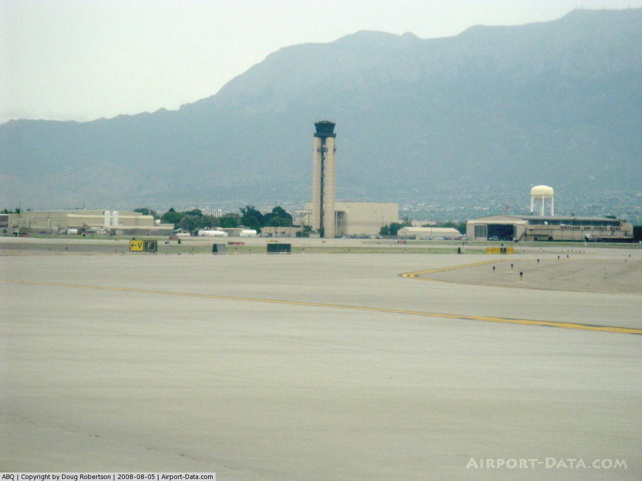 International Airport Albuquerque, NM Postcard