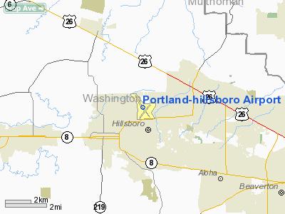 Portlandhillsboro Airport - Airports in oregon