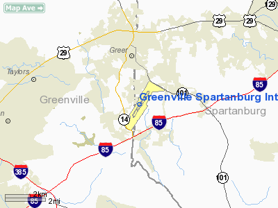 U Save Car Rental >> Greenville Spartanburg Intl Airport