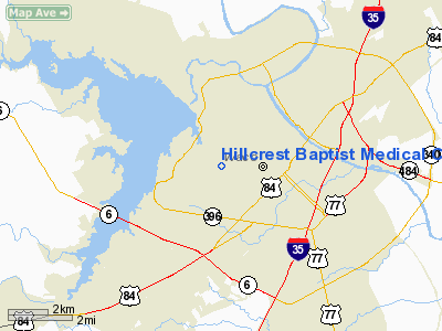 Hillcrest Baptist Medical Center Heliport