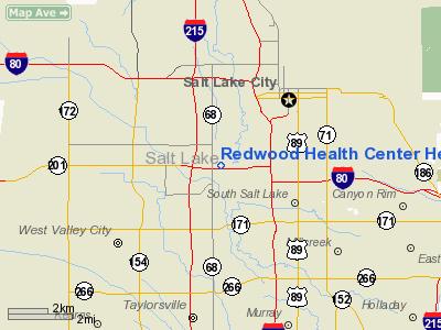 Redwood Health Center Heliport