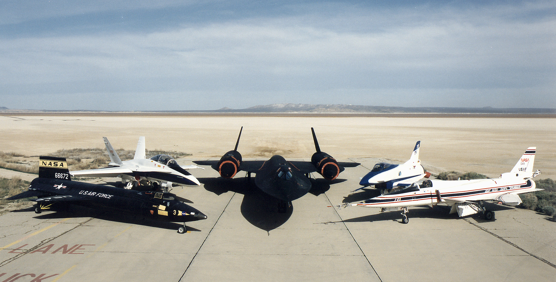 Edwards afb airport for Nasa air study
