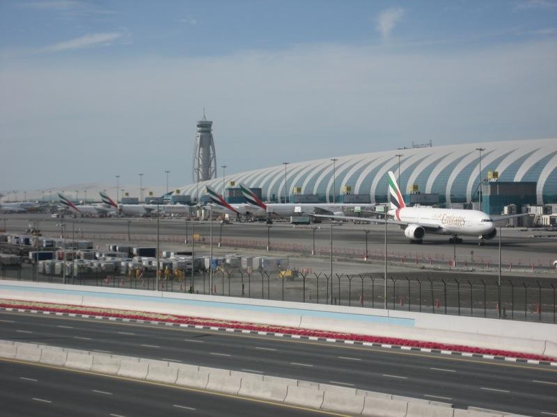 A badshah among airports   no itinerary Terminal     Dubai International Airport