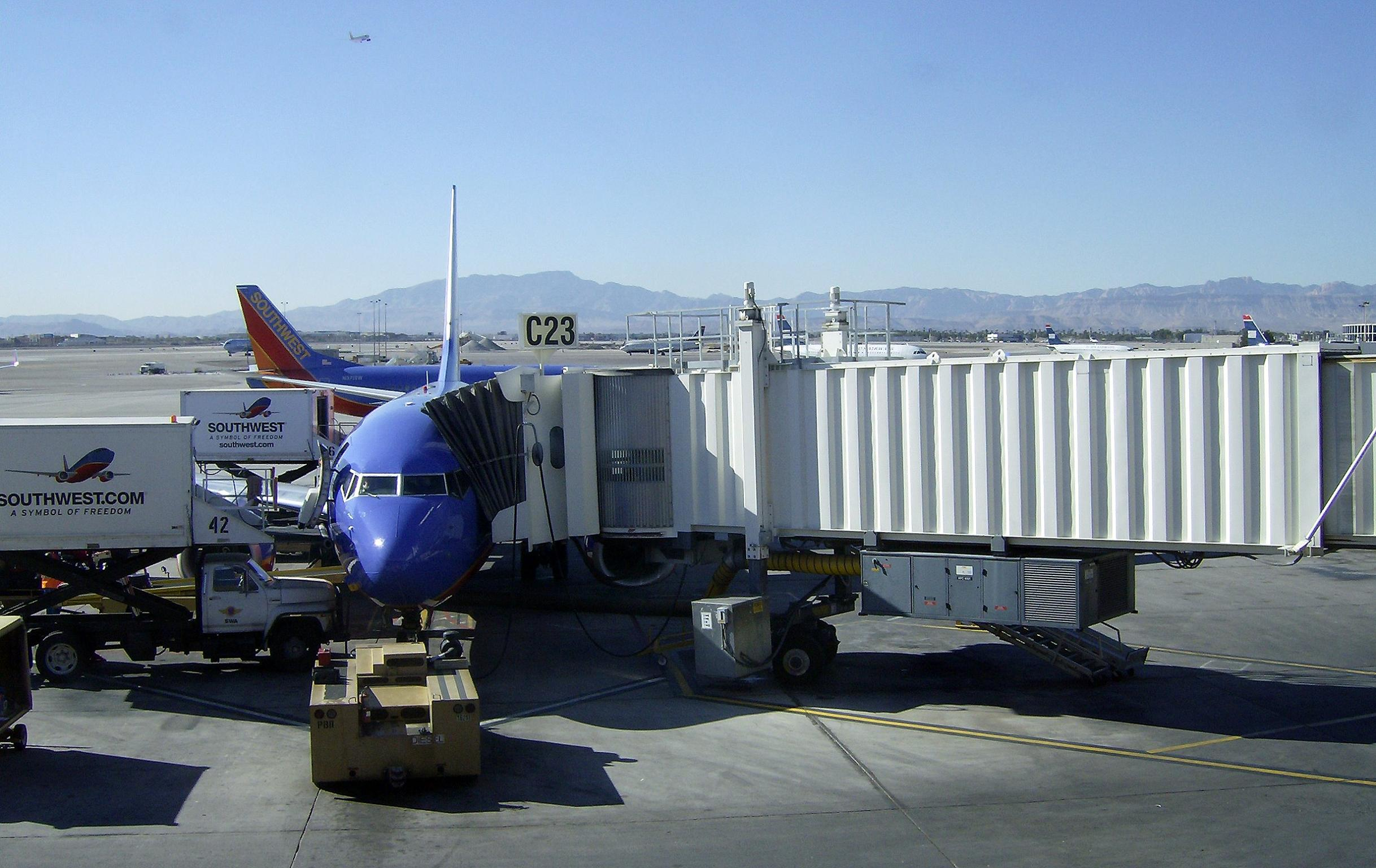 Gate turnaround at southwest airlines