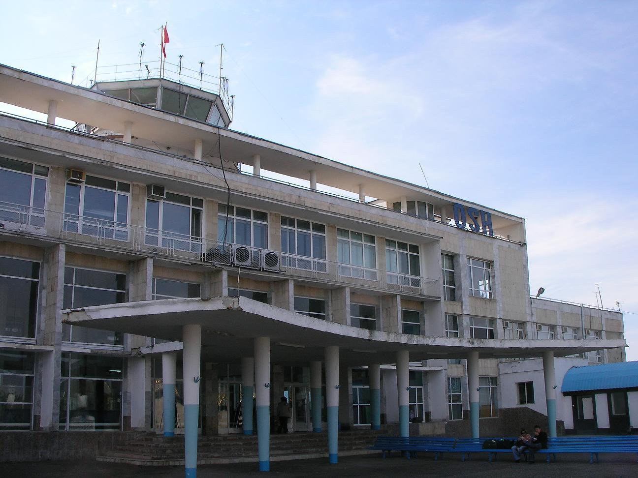 Аэропорт Ош (Osh Airport).1