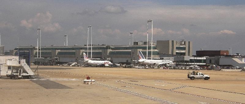 Aeroporto Italia : Fiumicino airport