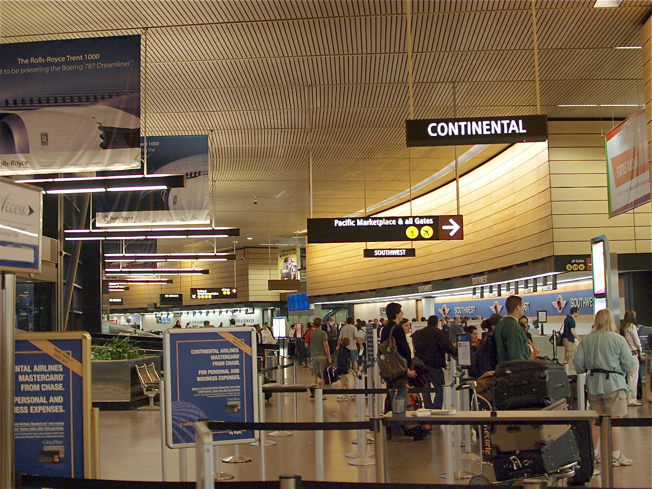 Seattle Tacoma Intl Airport