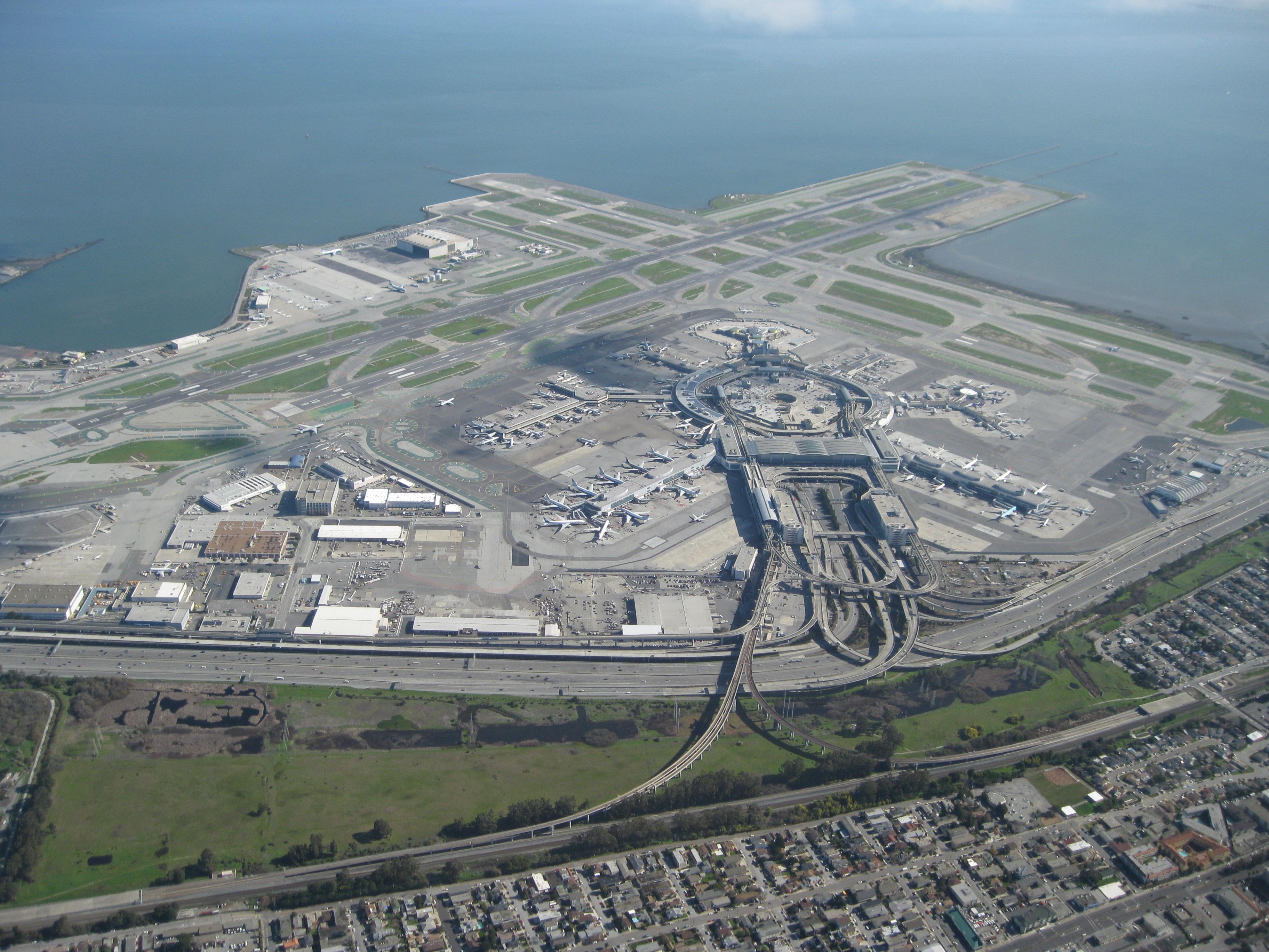 San Francisco International Airport San Francisco Map