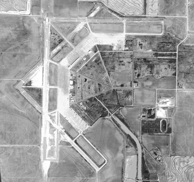 Stuttgart (AR) United States  city photos gallery : USGS aerial image, 3 March 1994