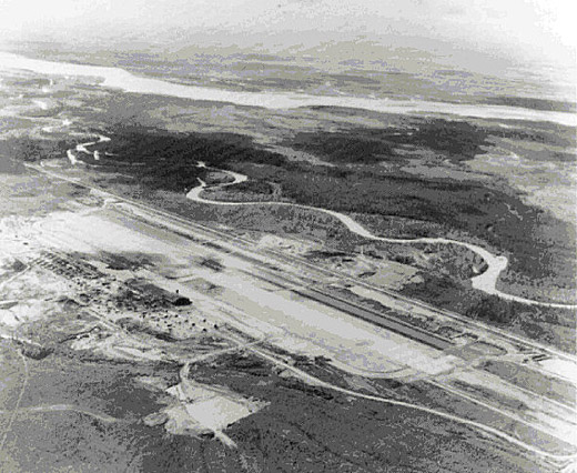 26 Mile Field - now Eielson AFB - 1945