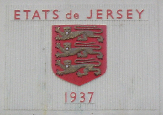 Arms and date on the original 1937 tower