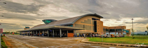 The Bacolod-Silay Airport Terminal Building.