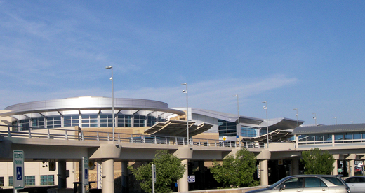 The Boise Airport Passenger Terminal.