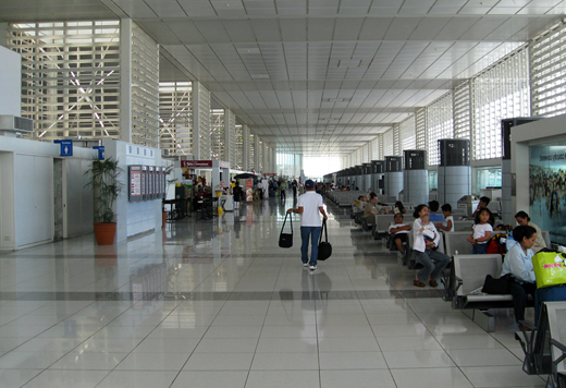 The NAIA Centennial Terminal 2 departure hall
