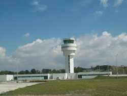 The airport's Air Traffic Control Tower is considered as one of the most sophisticated in the Philippines.