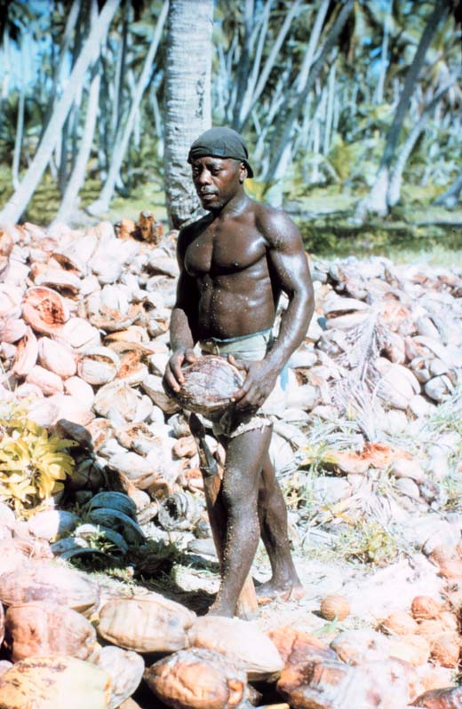 A Diego Garcian photographed by a U.S. National Geodetic Survey team in 1969. The gentleman in the photo was known to all by the nickname