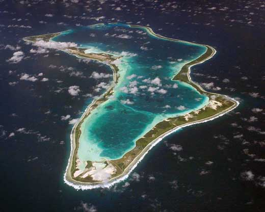 Diego Garcia as seen from the south, 1998.