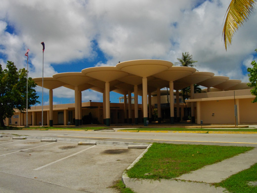 Old terminal - Continental Micronesia headquarters