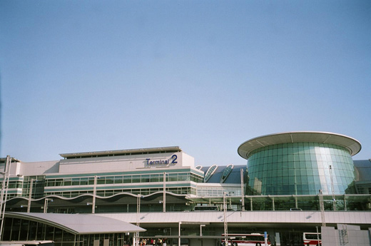 Terminal 2, completed in 2004, now houses All Nippon Airways, StarFlyer, Skynet Asia and Air Do.