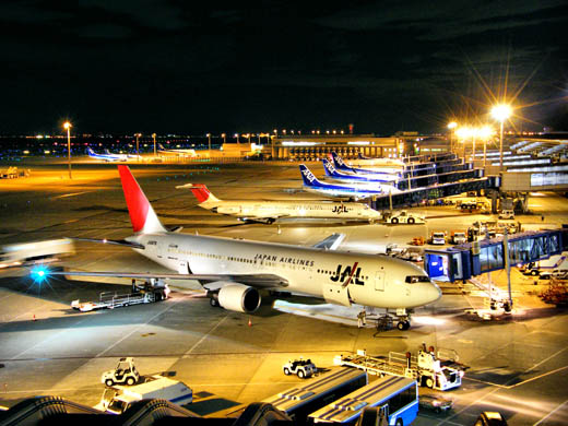JAL and ANA operations at Chūbu International Airport
