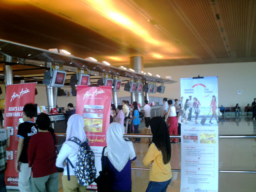 AirAsia Check In Counters