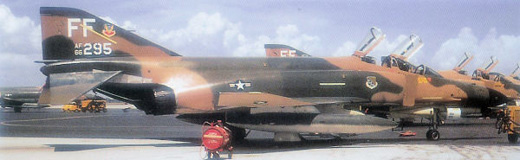 McDonnell F-4E-31-MC Phantom II, AF Serial No. 66-0295 of the 94th TFS.