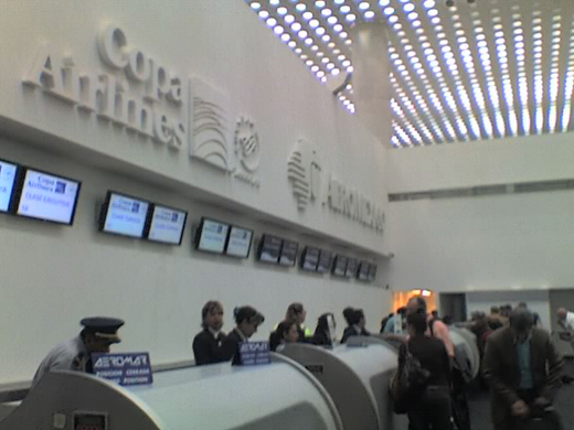 Terminal 2 Hall L3 Check-in Counters