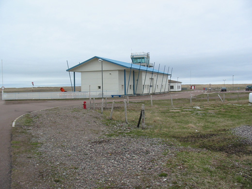 Miquelon Airport, May 15, 2008