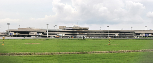 Airside view of the T1 taken from Kaingin Road