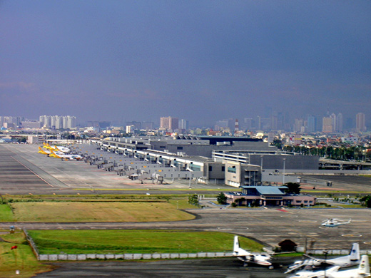 Terminal 3 from the air