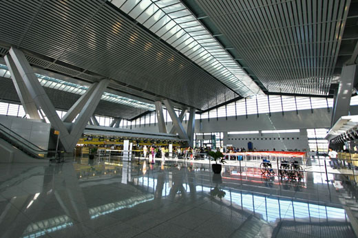 Departure hall of Terminal 3
