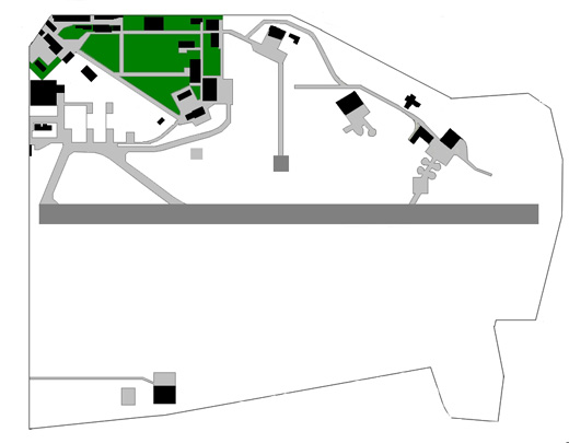 Map of the airport.