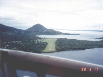 Old Rabaul Airport (17 Feb 1988)