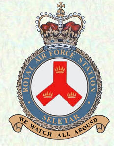 RAF Seletar Crest Badge