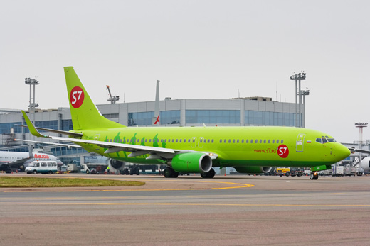 S7 Airlines's Boeing 737-800