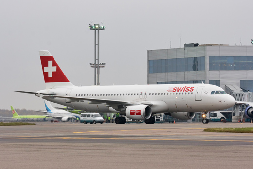 Swiss International Air Lines's Airbus A320