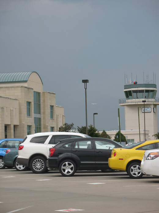 The terminal and control tower