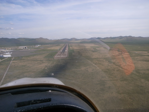 Final Approach in a light aircraft