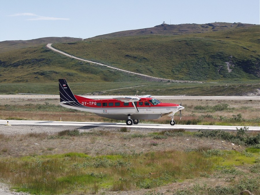 Air Alpha Cessna 208 B Grand Caravan at Kangerlussuaq Airport