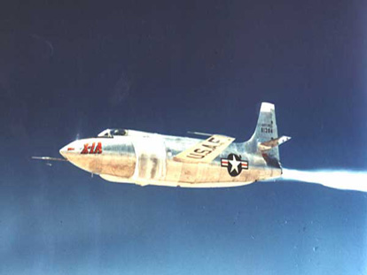 Bell X-1A in flight