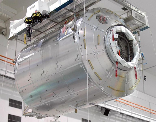 ISS module Columbus at Kennedy Space Center