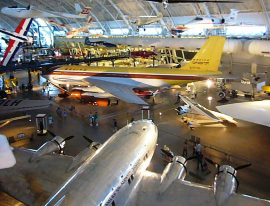 Boeing 367-80 at the Air and Space Museum