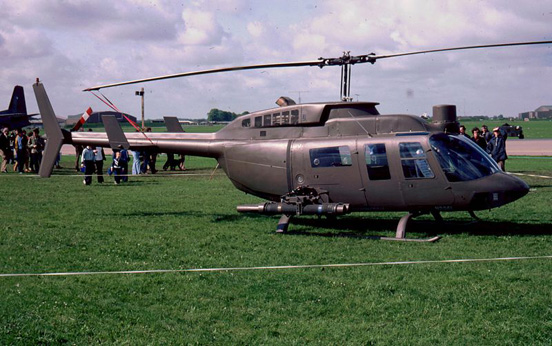 Bell 206L TexasRanger in 1981