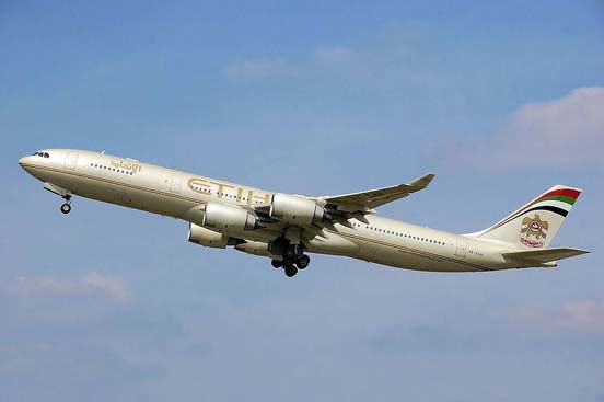 Etihad Airways Airbus A340-500