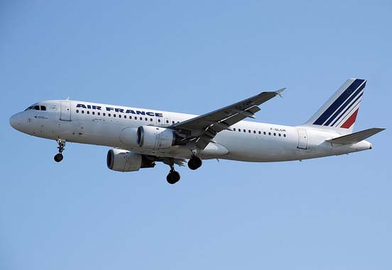 Air France was the launch customer of the Airbus A320