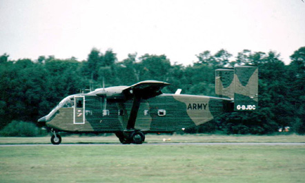 Company military demonstrator in 1982