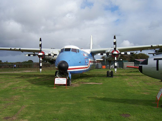 HPR.7 Herald G-ASKK preserved at the City of Norwich Aviation Museum
