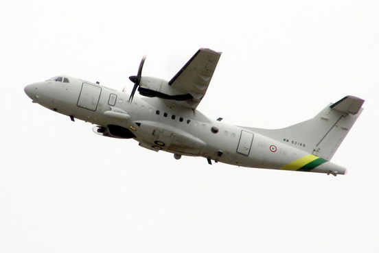 Guardia di Finanza ATR 42MP (MM62166) takes off at the Royal International Air Tattoo, Fairford, Gloucestershire, England