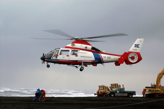 AS365 N2 Dauphin 2 of the Icelandic Coast Guard