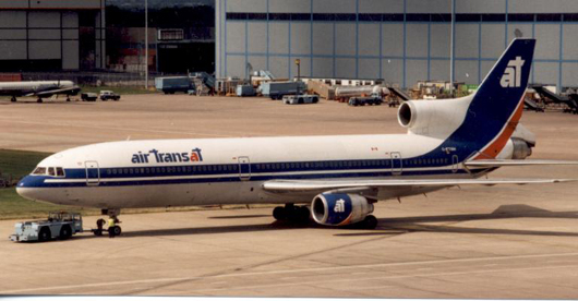L-1011-150 TriStar of Air Transat (Canada) in 1995